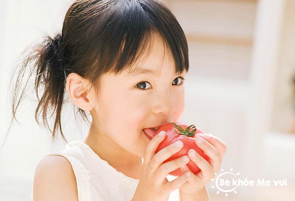 thực phẩm giúp tăng sức đề kháng cho trẻ