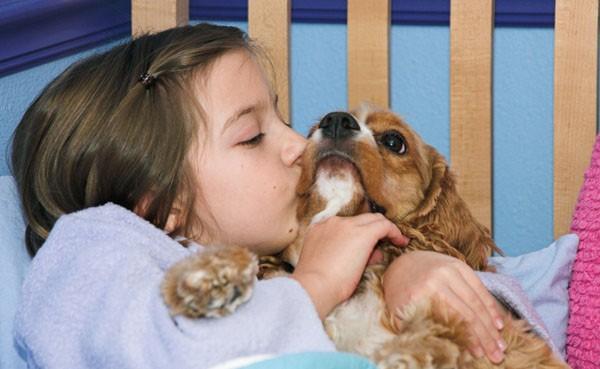 trẻ nên có một con vật nuôi trong nhà