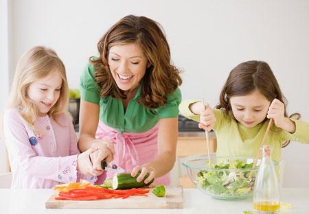 Bữa ăn dinh dưỡng dành cho bé yêu