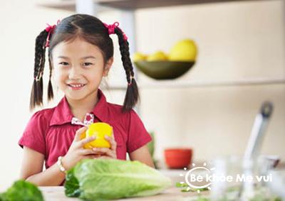 Vai trò của chất xơ với sức khỏe trẻ nhỏ
