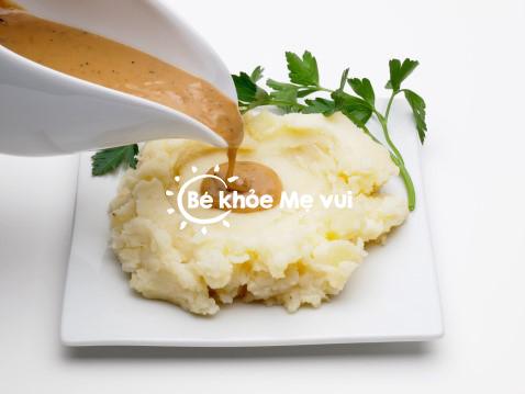 Biến tấu món ăn từ khoai tây cho bé