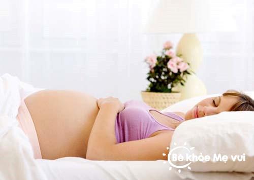 Bí quyết để mẹ bầu có giấc ngủ ngon