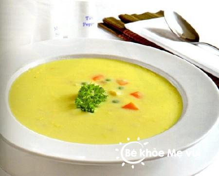 Bí quyết nấu súp cho bé ăn dặm