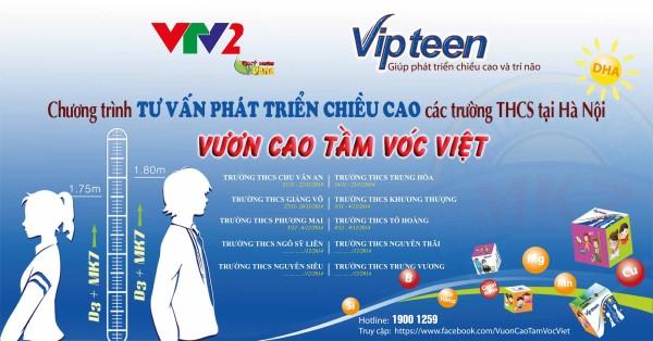 """Chương trình tư vấn """"Tăng chiều cao"""" tại Hà Nội"""