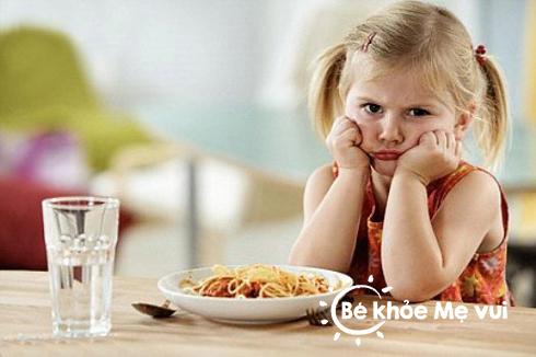 Giải pháp cho bé biếng ăn
