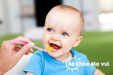 Nguyên tắc khi nêm gia vị vào món ăn cho bé