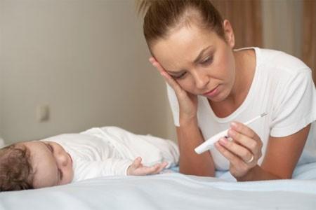 Trẻ bị mất cân bằng hệ vi khuẩn đường ruột thường rất dễ ốm