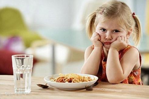 trẻ bị đầy bụng khó tiêu chán ăn